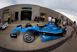 Wagen van Bryan Clauson, Sarah Fisher Hartman Racing Honda