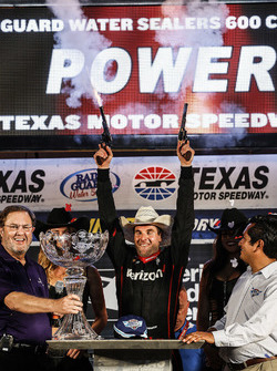 Will Power, Team Penske Chevrolet sur la victory lane