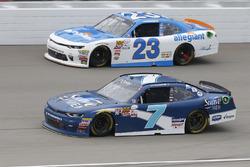 Джастин Алгайер, JR Motorsports Chevrolet и Спенсер Галлахер, GMS Racing Chevrolet