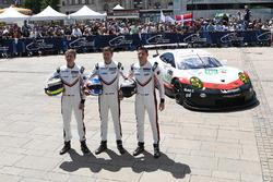 №92 Porsche Team Porsche 911 RSR: Микаэль Кристенсен, Кевин Эстре, Дирк Вернер