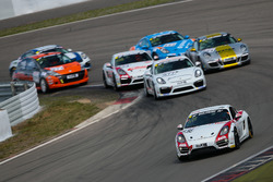 Nicolas Griebner, Bjoern Simon, Emin Akata, Porsche Cayman S