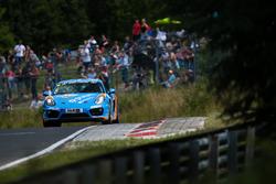 Norbert Fischer, Christian Konnerth, Daniel Zils, Porsche Cayman