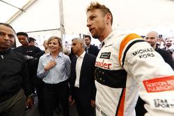 Susie Wolff, Sadiq Khan, maire de Londres, Jenson Button, McLaren