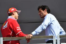 Sebastian Vettel, Ferrari ve Mark Webber