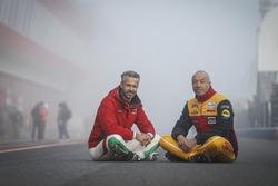 Тьягу Монтейру, Honda Racing Team JAS, и Том Коронель, Roal Motorsport