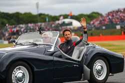 Romain Grosjean, Haas F1 on the drivers parade