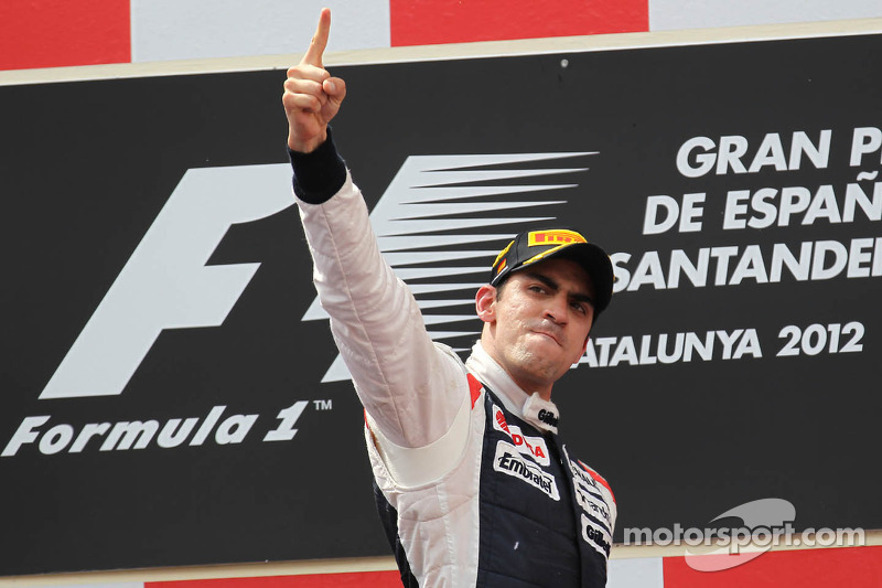 Ganador de la carrreraPastor Maldonado, Williams F1 Team