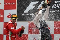 1. Pastor Maldonado, Williams; 2. Fernando Alonso, Ferrari