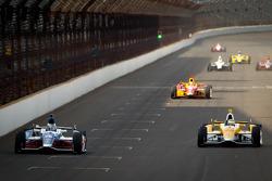 Marco Andretti, Andretti Autosport Chevrolet, Ryan Hunter-Reay, Andretti Autosport Chevrolet