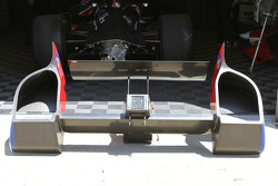 Rear wing assembly on the DW12 Chassie