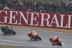 Casey Stoner, Repsol Honda Team y Valentino Rossi, Ducati Marlboro Team