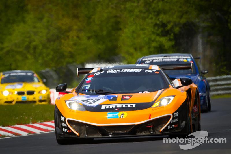 #69 Dörr Motorsport McLaren MP4-12c GT3: Rudi Adams, Chris Goodwin, Lucas di Grassi, Jochen Übler