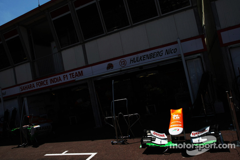 Sahara Force India F1 VJM05 neus