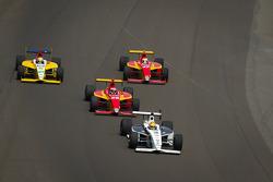 Victor Carbone, Sam Schmidt Motorsports leads Carlos Munoz, Andretti Autosport