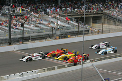 Victor Carbone, Sam Schmidt Motorsports leads at the yard of bricks