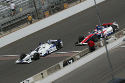 Katherine Legge, Dragon Racing Chevrolet and Wade Cunningham, A.J. Foyt Enterprises Honda
