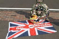 Winners photoshoot: a tribute to Dan Wheldon