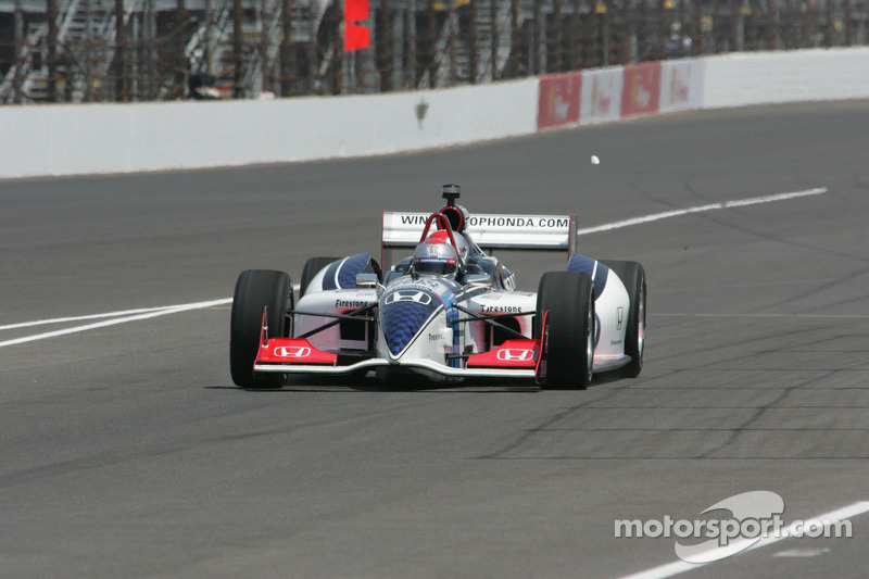 Mario Andretti in the Indy Car two seater