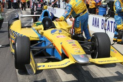 The car of Ana Beatriz, Andretti Autosport/Conquest Racing Chevrolet