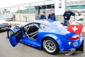 #80 Emil Frey Racing Jaguar XK: Fredy Barth, Gabriele Gardel, Lorenz Frey