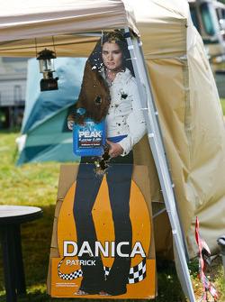 Danica Patrick cardboard cutout