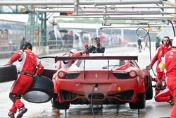 #50 AF Corse Ferrari 458 Italia: Jack Gerber, Raffaele Giammaria