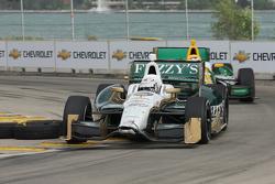 Ed Carpenter, Ed Carpenter Racing Chevrolet and Simona De Silvestro, Lotus-HVM Racing