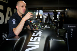 Marino Franchitti talks about the #0 Highcroft Racing Delta Wing Nissan