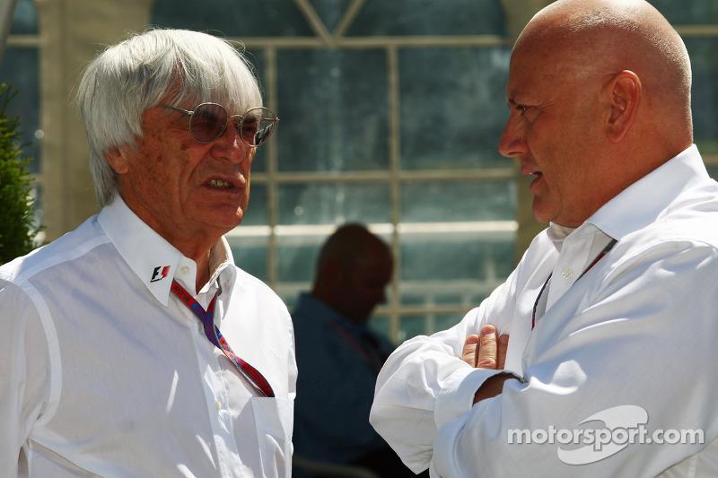 Bernie Ecclestone, CEO Formula One Group,