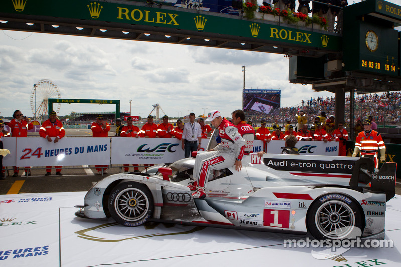 2012 - Audi R18 e-tron Quattro : Marcel Fässler, Andre Lotterer, Benoit Tréluyer