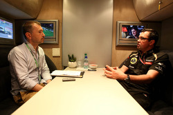 Eric Boullier, Team Principal, Lotus Renault GP
