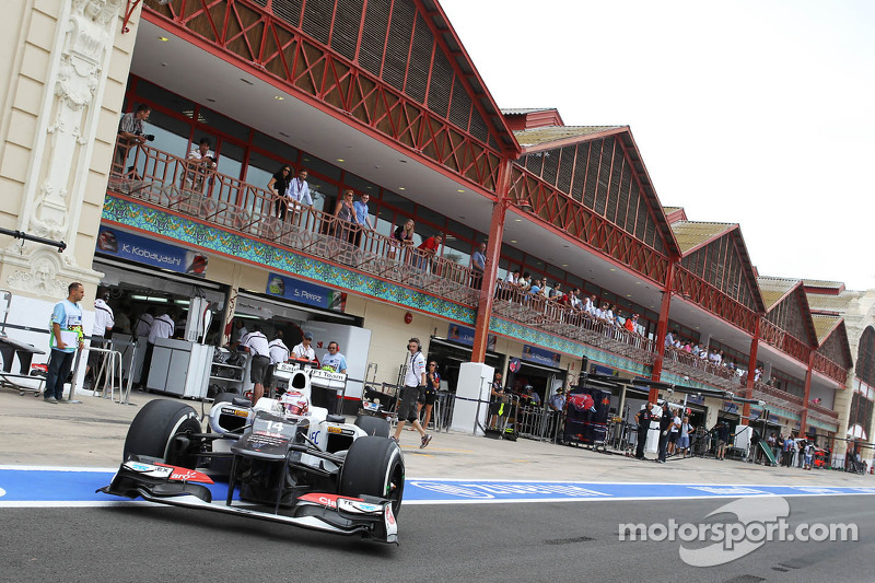 Kamui Kobayashi, Sauber verlaat pits