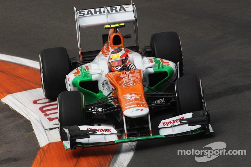 Jules Bianchi, Sahara Force India F1 Team derde rijder