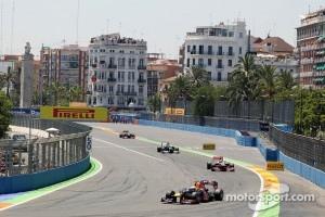 Valencia, 2012 F1 race.