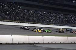 Start: Marco Andretti, Andretti Autosport Chevrolet aan de leiding