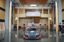 WRT Audi R8 Ultra on display in entranc to Panoramic Club