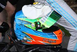 Duvashen Padayachee's helmet