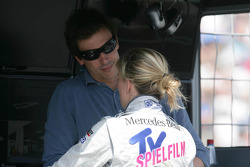 Toto Wolff and Susie Wolff, Persson Motorsport, AMG Mercedes C-Coupe