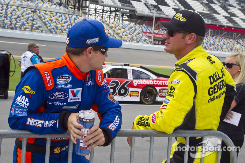Ricky Stenhouse Jr. en Clint Bowyer