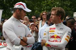 Andre Lotterer, Sebastian Vettel