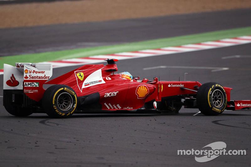 Fernando Alonso, Ferrari spint
