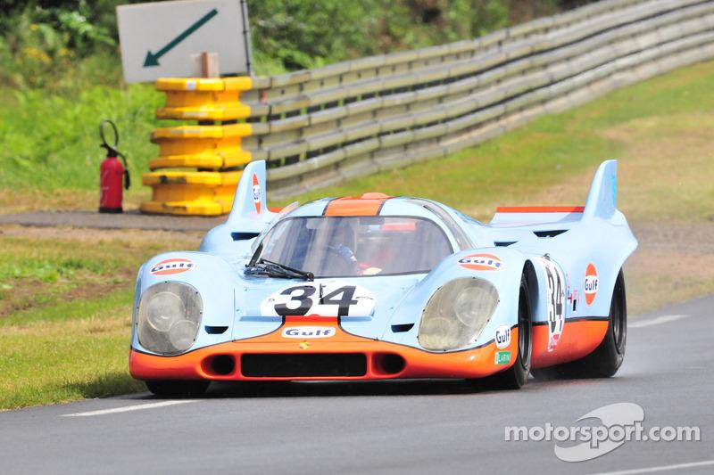 #34 Porsche 917: Richard Attwood, Vern Schuppman