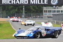 #27 Lola T70 MKIII: Philippe Borghetti, Peter Mann