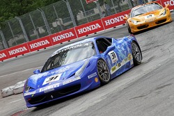 #31 Ferrari of Ontario 458CS: Damon Ockey and #89 Ferrari of Ontario 458CS: Ryan Ockey