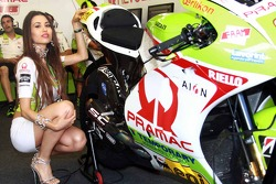 Lovely Pramac girl