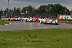 #24 Oak Racing Morgan Judd: Jacques Nicolet, Matthieu Lahaye leads from the start