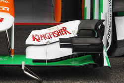 Sahara Force India F1 VJM05 front wing detail