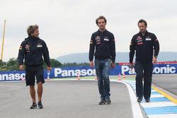 Jean-Eric Vergne, Scuderia Toro Rosso wandelt op het circuit