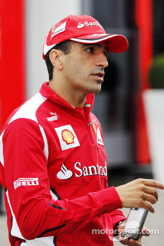 Marc Gene, Scuderia Ferrari testrijder