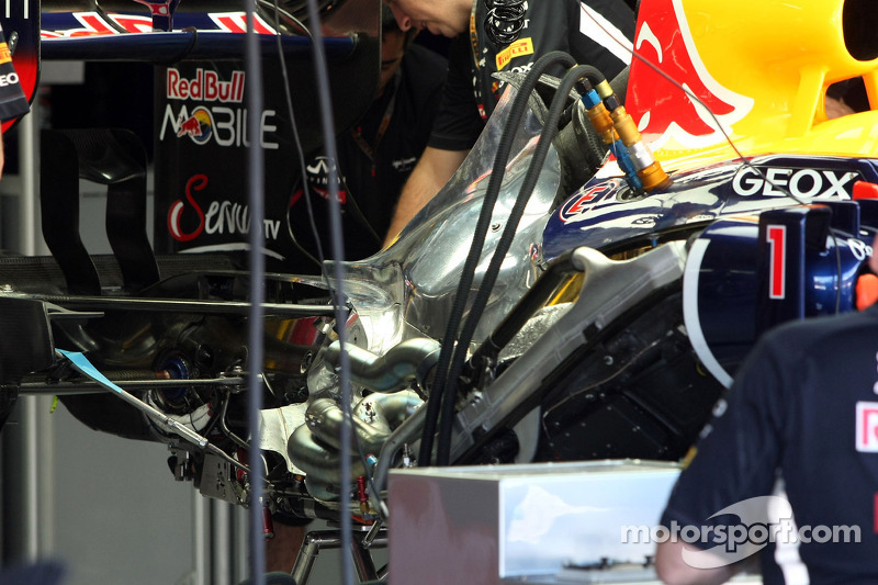 Red Bull Racing Technical detail of the engine